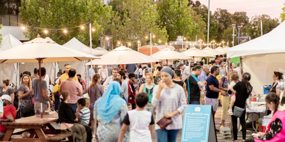 The Mirrabooka Community Markets kicked off in December. Photo: Gasian Tembo-GeeTee Imagez