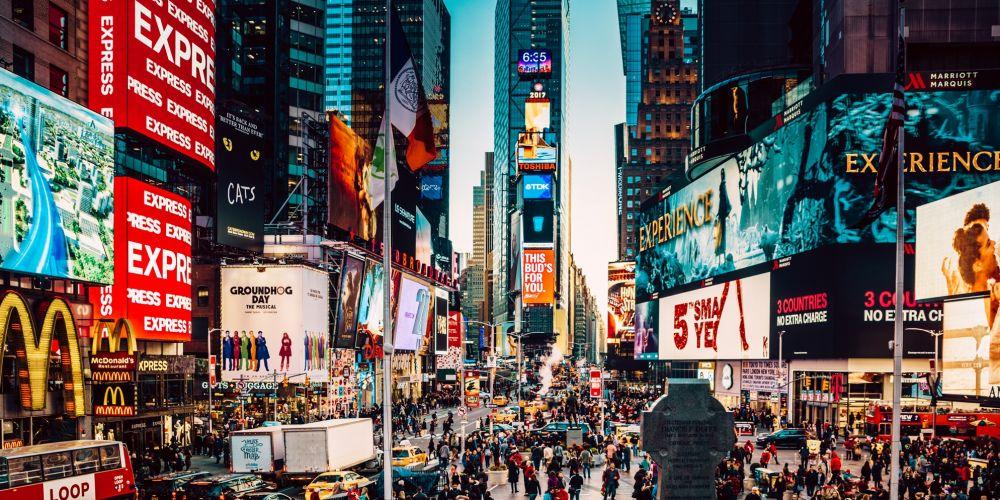 Times Square. Photo: Getty