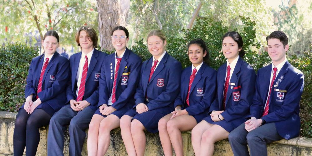 Stephen's School Year 12 students Josephine Parker, Lachlan Gill, Alexandra Taseff, Charlotte Brown, Riva Shah, Harpreet Kaur and Bradley Doig have topped off a successful academic year with excellent ATAR scores.