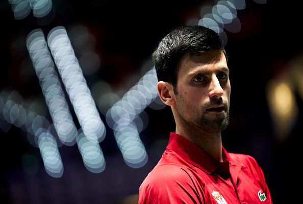 Novak Djokovic of Serbia. Picture:  fotopress/Getty Images