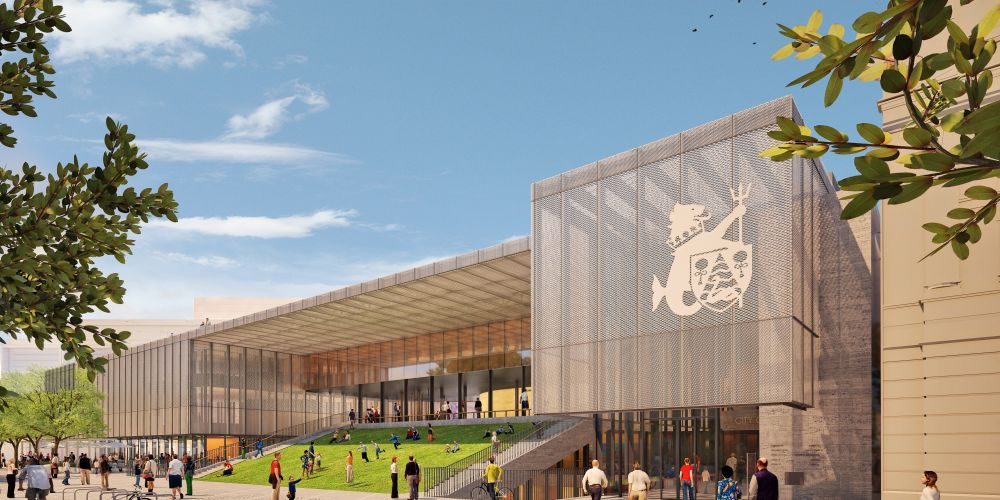 An artist's impression of the City of Fremantle's new civic centre at Kings Square.