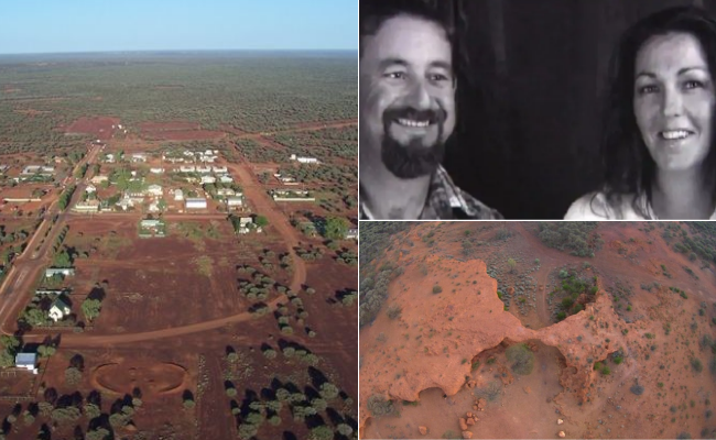 Raymond Kehlet, 47, and his wife Jennie, 49, went on a prospecting trip to Sandstone, about 660km north of Perth, in March 2015.