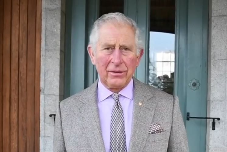 Prince Charles was emotional when discussing the bushfire crisis. Photo: Instagram