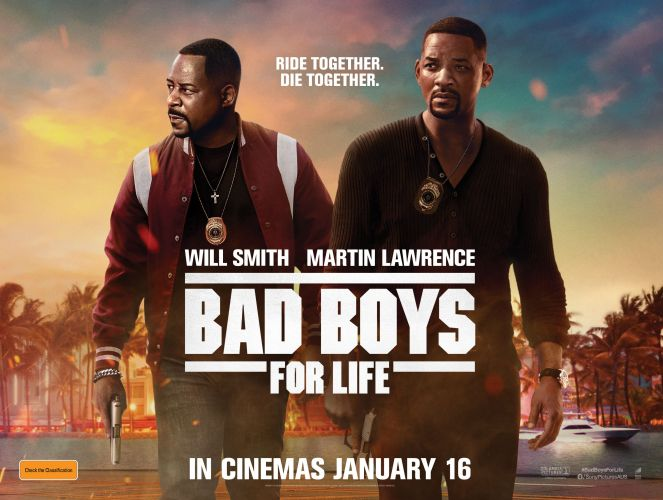 Win a double pass to Bad Boys for Life