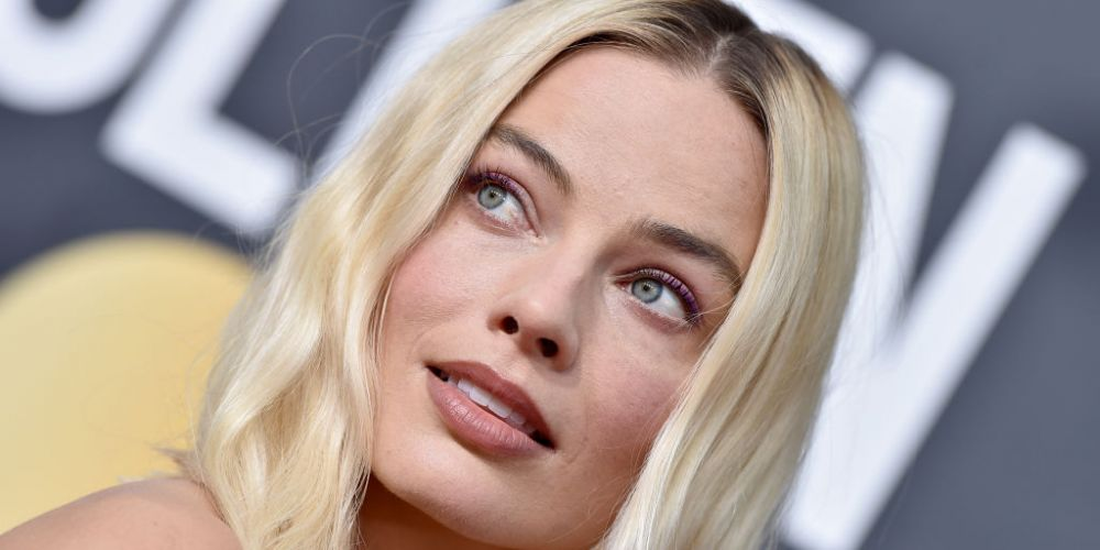 Margot Robbie attends the 77th Annual Golden Globe Awards on Sunday/. Photo: Getty