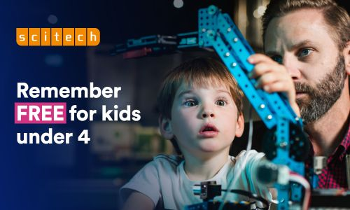 School Holidays at Scitech