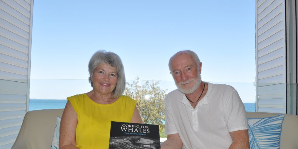 Robyn and Wade Hughes have spent the past 15 years researching and photographing whales. Photo: Ben Smith.