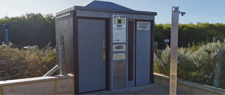 Feedback is being sought on the use of the Mullaloo Beach North toilet. Picture: City of Joondalup