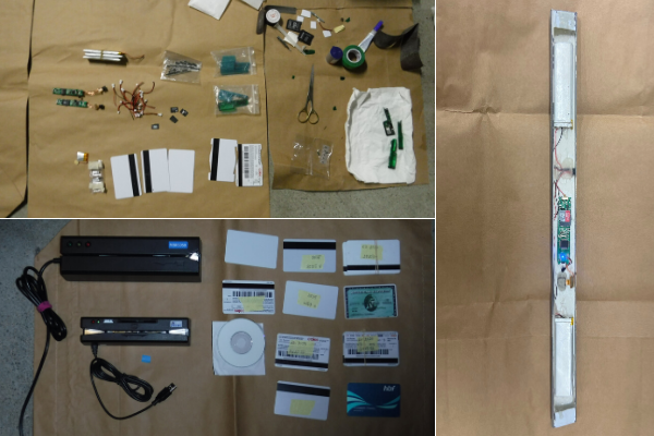 Two foreigners charged after alleged card skimming