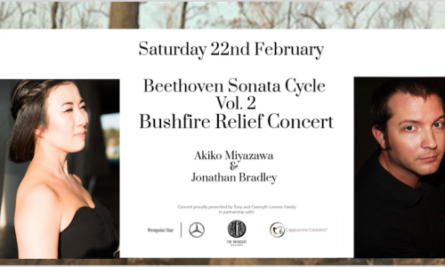 Beethoven Sonata Cycle Vol.2 Fundraising Concert for Bushfire Relief
