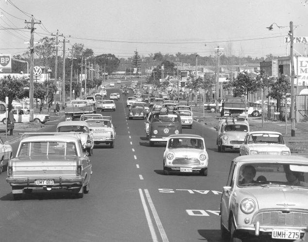 Scarborough Beach Road circa 1975. Photo: City of Stirling