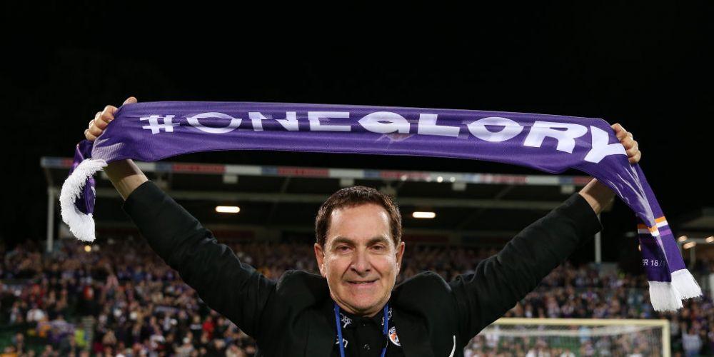 Perth Glory owner Tony Sage. Photo: Getty