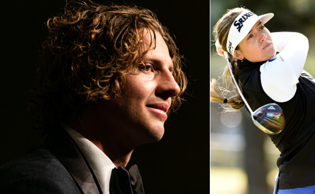 Golfing sensation Hannah Green and Fremantle Dockers captain Nathan Fyfe are joint winners of one of WA's most prestigious sporting trophies. Pictures: Getty Images