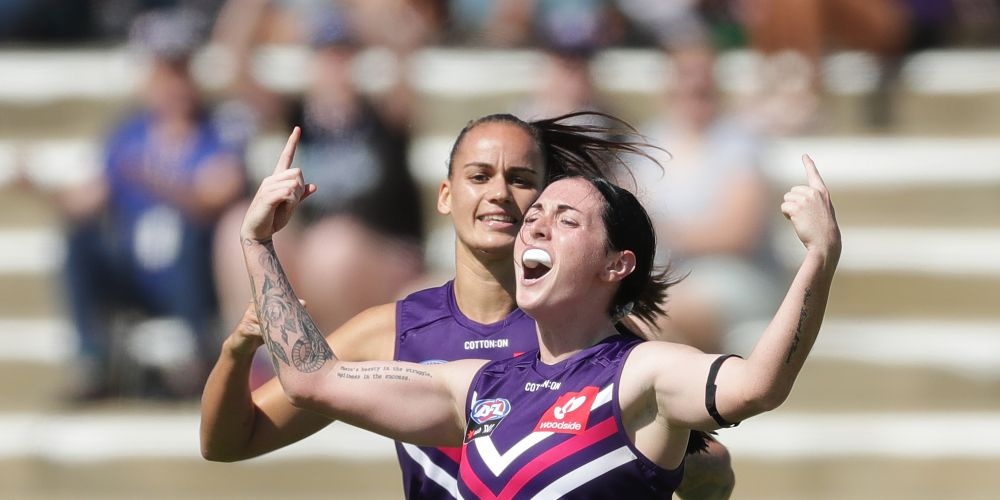 The Dockers are red-hot favourites to wipe the floor against the Eagles. Picture: Supplied/Twitter