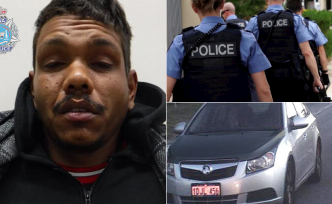 Police have caught a man following a shooting in Perth earlier this week, but another remains on the run and may be armed.