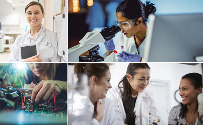 Women and girls are being encouraged to consider careers in STEM (science, technology, engineering and mathematics). Pictures; Getty