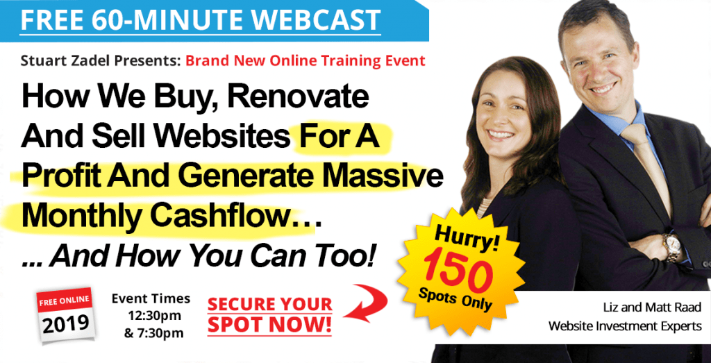 FREE Digital Profits Online Training Webcast 60 Minutes with Matt & Liz Raad