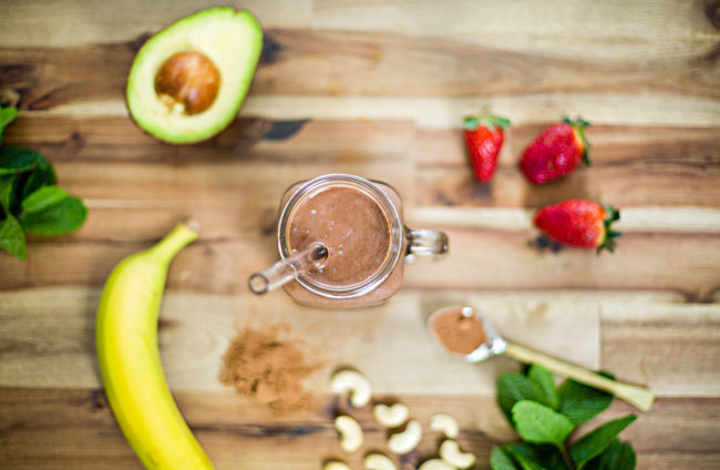 Avocado Strawberry Smoothie Recipe and Healthy Avocado Chocolate Smoothie Recipe