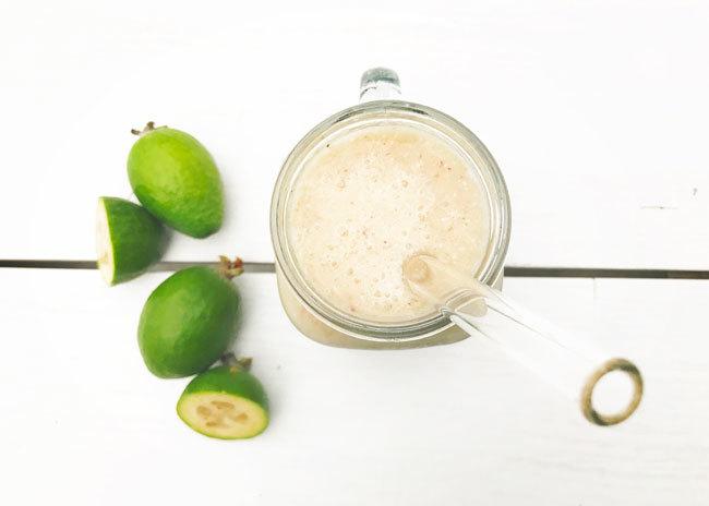 Healthy Feijoa Smoothie Recipes - Apple And Feijoa