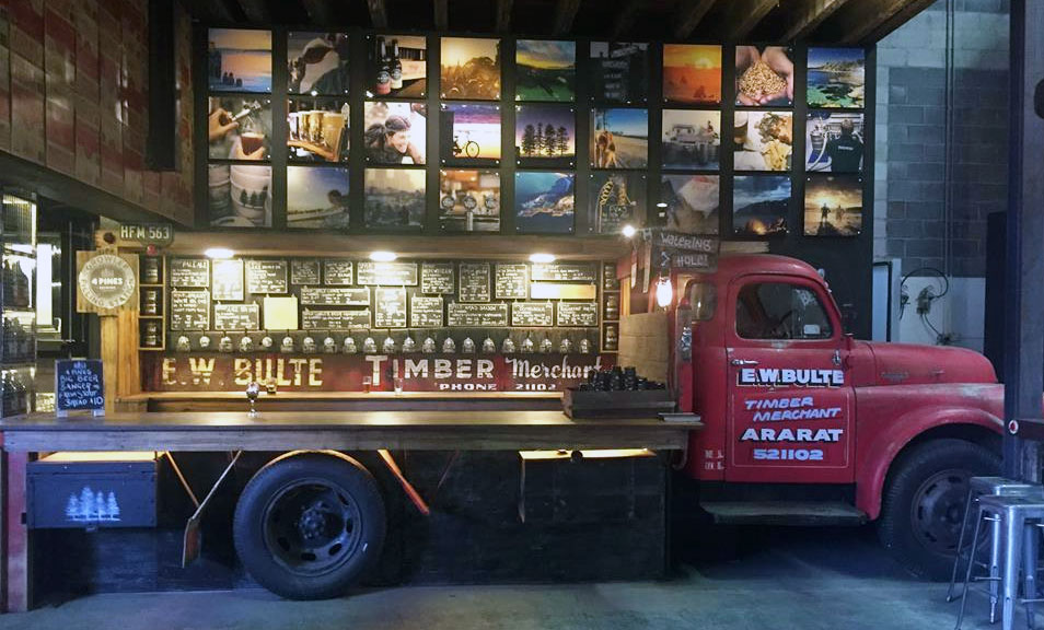 Visit the Brookvale Truck Bar & Get A Free 4 Pines Growler