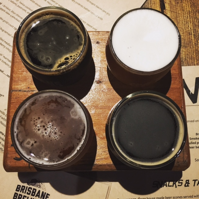 2-for-1 Tasting Paddles at Brisbane Brewing Co
