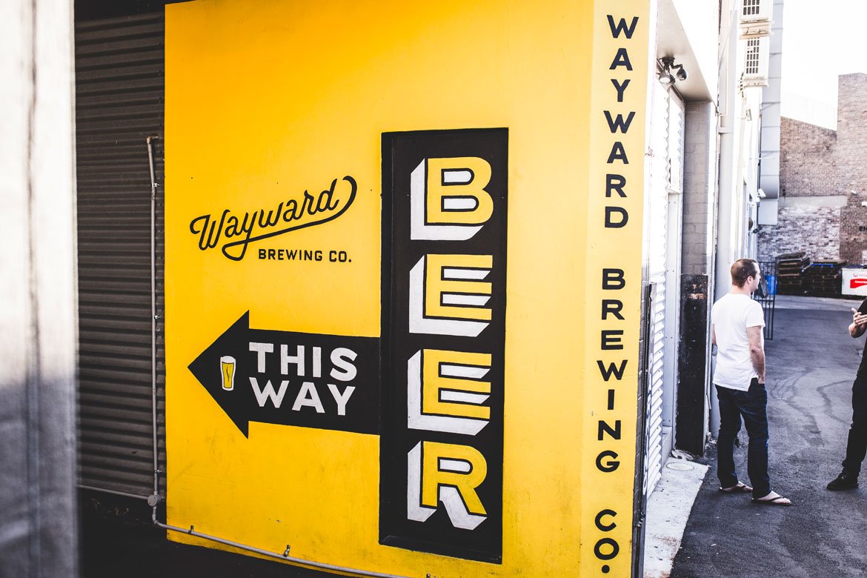 SBW Drinks at Wayward