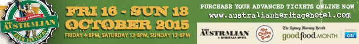 Australian Hotel Beer Fest 2015