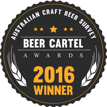 Beer Cartel 2016 winner