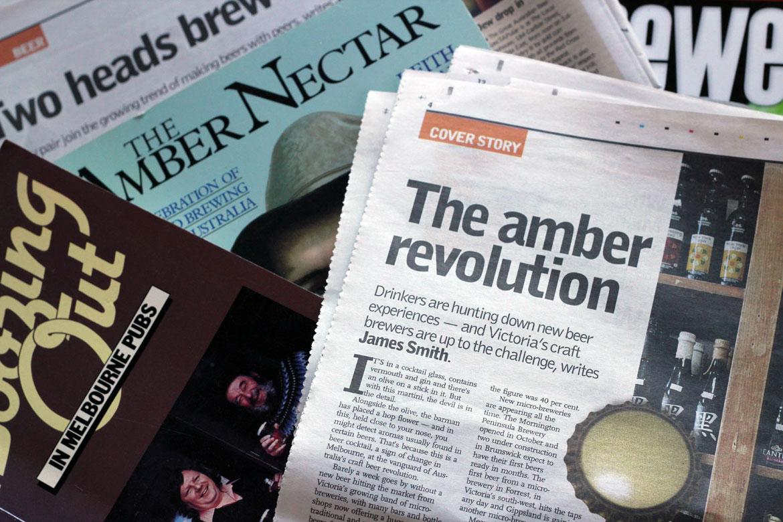The Pondering Pint: Beer in the Media