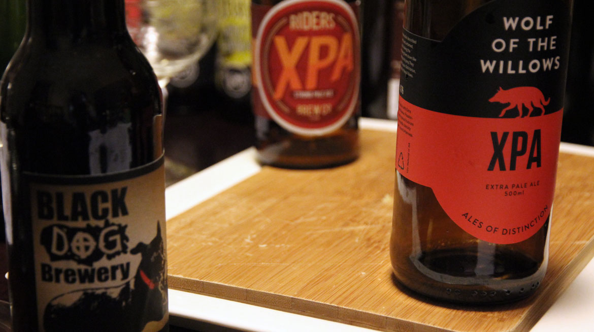Getting Blind With Crafty: XPA / Session IPA