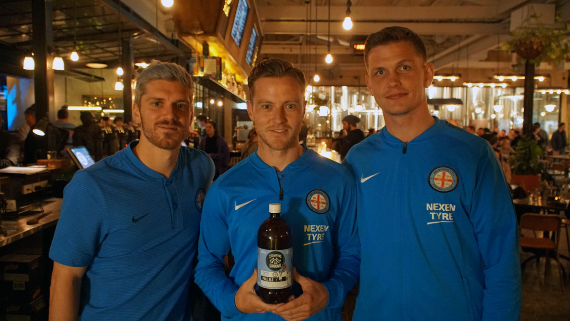 Stomping Ground Strikes For Melbourne City