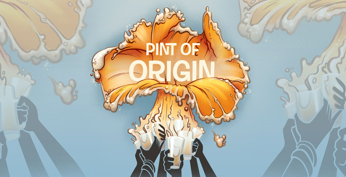 Pint of Origin at Good Beer Week 2017