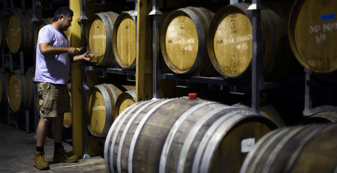A Day In The Life Of A Barrel Room: Boatrocker