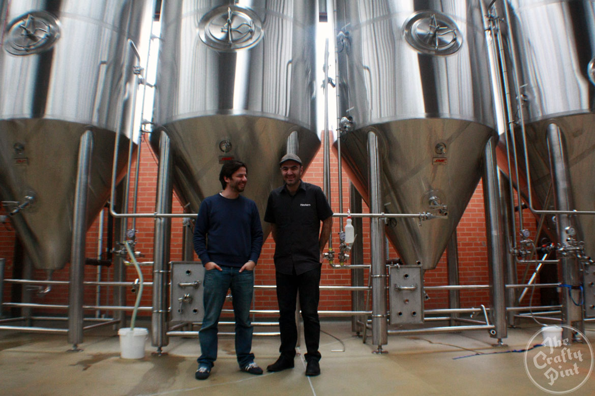 Mazen and Joseph from Hawkers Beer