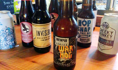 The refreshments for the 2015 Best New Beers of WA tasting panel