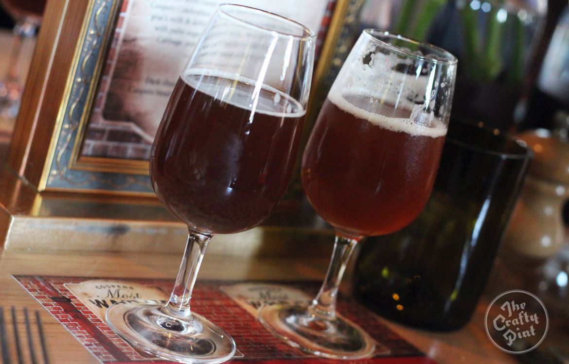 Coopers Vintage Ale 2010 and 2015