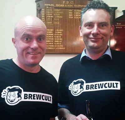 Hendo BrewCult with Davydd at Flem Ken Bowlo
