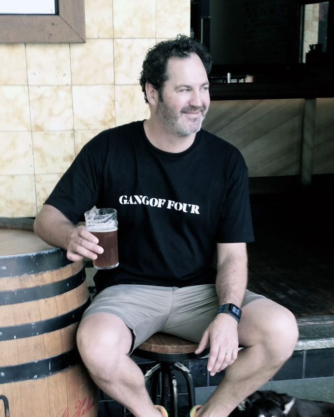 Mike Ross of Gang of Four brewing company