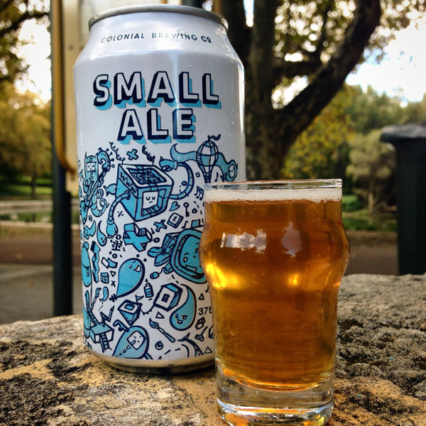 Colonial Small Ale can