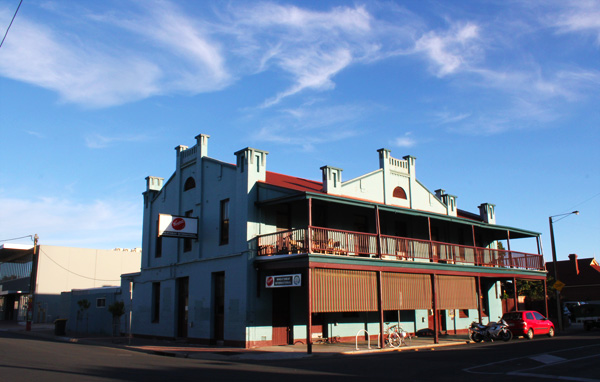 The Wheaty or Wheatsheaf Hotel in Thebarton