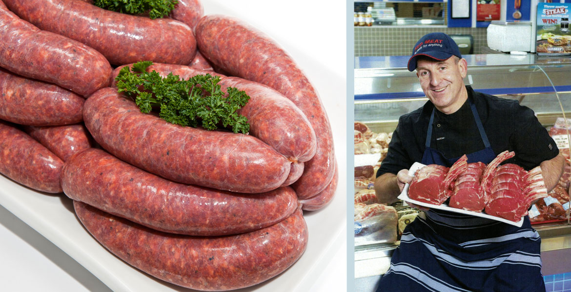 Bruce's Meats and their King King sausages
