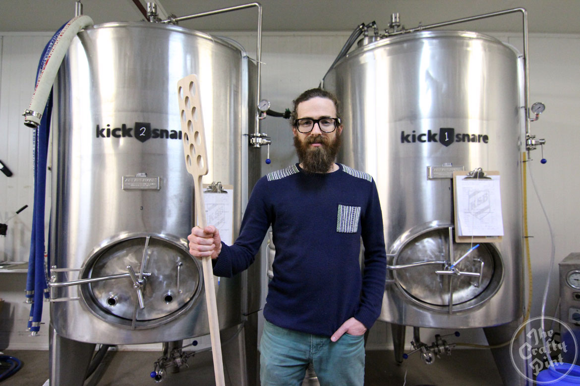 Andrew Swift of kick|snare brewing