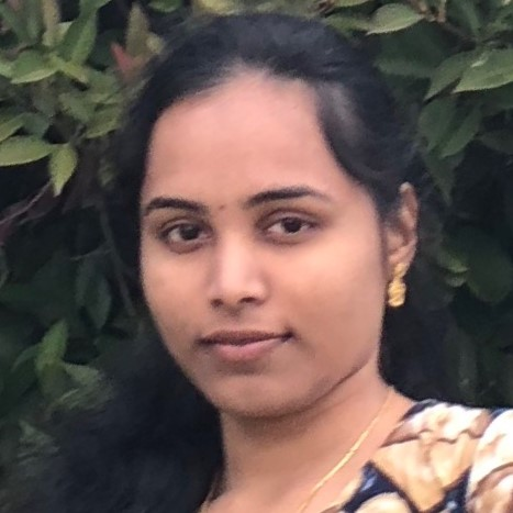 Crew member Poojitha Chowdary