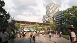 Slide 2 of 3 - Woolloongabba Station Precinct - concept only, not final or for build