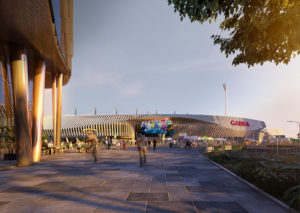 Slide 3 of 3 - Woolloongabba Station Precinct - concept only, not final or for build