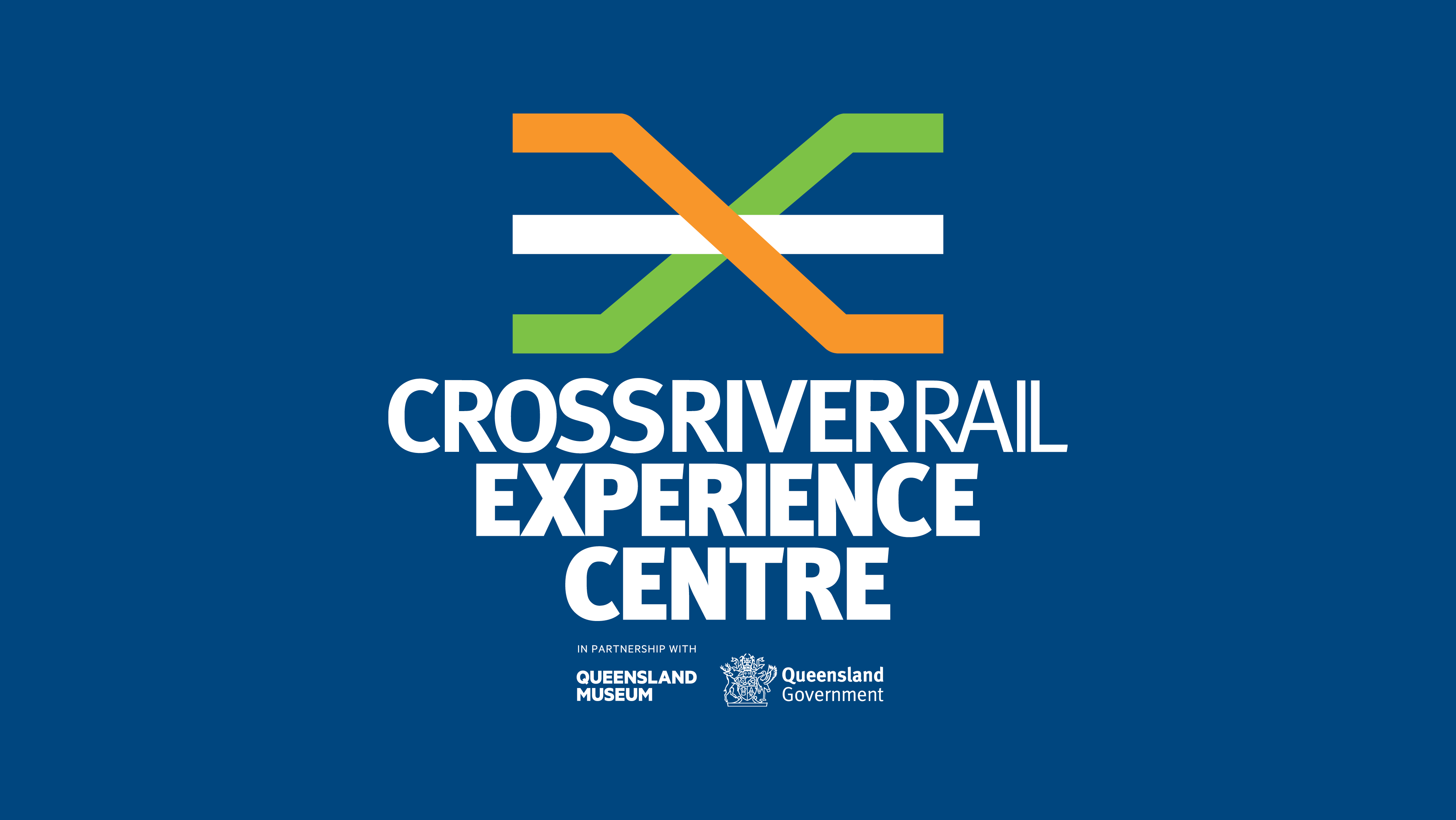 logo for the Cross River Rail Experience Centre