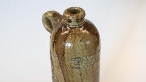 Slide 1 of 6 - <strong>Gin Bottle</strong> - Lucas Bols (c.1880-1910)