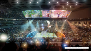 Slide 1 of 4 - Brisbane Live Entertainment Arena - Concept only, not final or approved