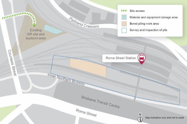 Permanent closure of Roma Street footbridge