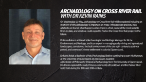 Slide 5 of 10 - Archaeology on Cross River Rail with Dr Kevin Rains
